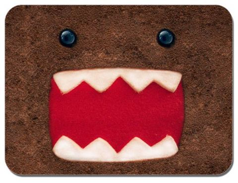 Domo Kun Face Mouse Mat Cartoon Animation Novelty Mouse pad Domokun